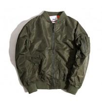 【預購】經典款MA-1防風飛行外套~3色 男女可穿