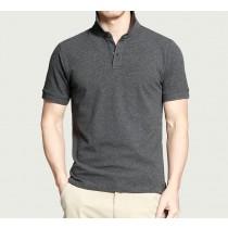 【預購】成熟型男風翻領兩穿式純棉POLO衫~11色