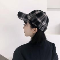 【預購】港風潮流格紋字母老帽